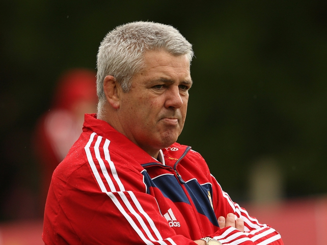Warren Gatland - has Welsh back play taken a step back?