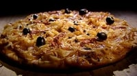 Pissaladiere - A type of Pizza which is a