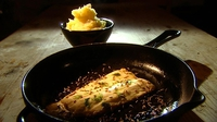 Fresh Fillet of Sea Bass with Fennel and Pastis - This dish enhances the lovely flavours of pastis.