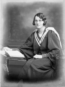 Letitia Dunbar Harrison at Trinity College