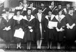 Letitia Dunbar Harrison's Graduating Class at Trinity College