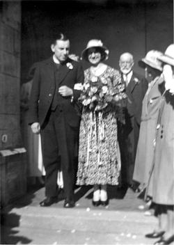 Letitia's wedding to Rev. Robert Crawford