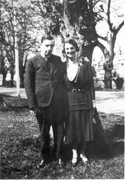 Letitia & Rev robert Crawford pictured on The Mall, Castlebar, Co. Mayo