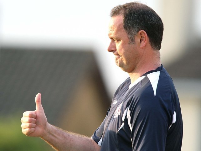 Alan Mathews saw his side record their second win of the season