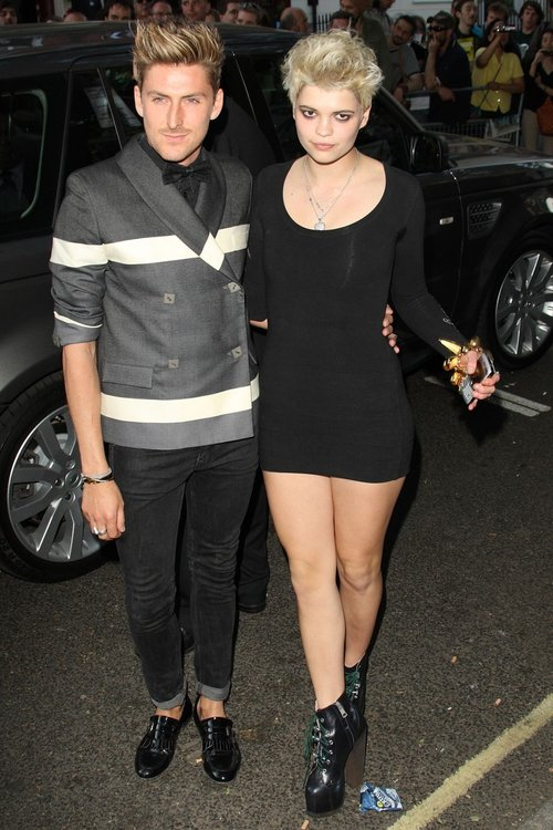 Henry Holland pictured with Pixie Geldof