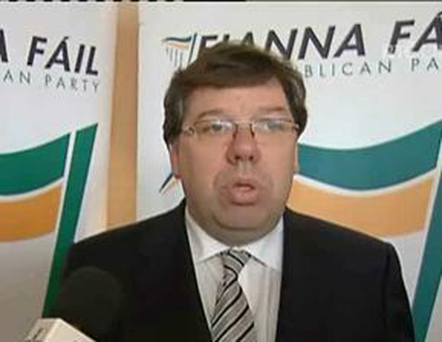 Brian Cowen - Party to begin a three-year process of reorganisation