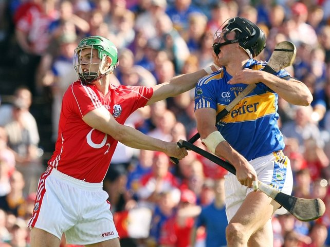 Eoin Cadogan in action for the Rebels against Tipperary