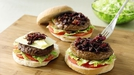 Irish Angus Burgers with Red Onion Marmalade - Garth McColgan's Irish Angus Burgers with Red Onion Marmalade for all the family to enjoy.