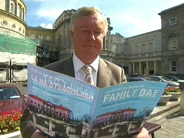 John O'Donoghue - High level of interest in Family Day