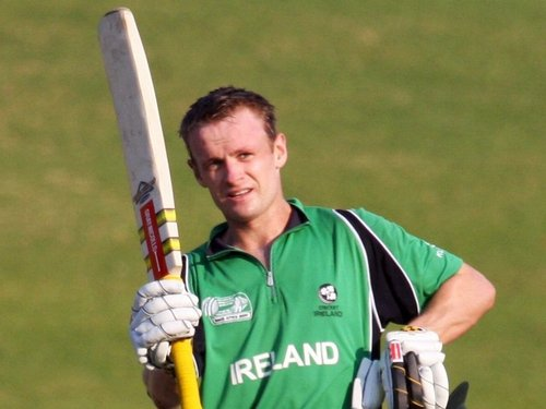 William Porterfield will not be available for Ireland's matches against West Indies A and Holland