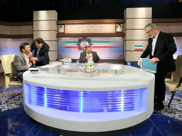 Ahmadinejad & Mousavi - Televised debate