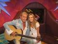 Sarah Morrissey and Johnny Logan