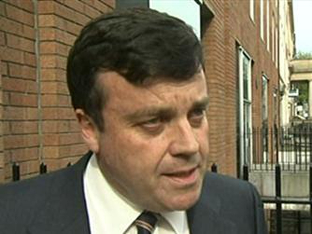 Brian Lenihan - Submitted group's recommendations to Cabinet