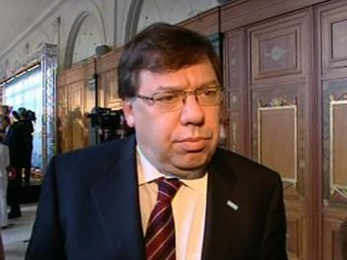 Brian Cowen - Guarantees agreed at EU