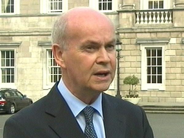 Pat Carey - Fianna Fáil Chief Whip