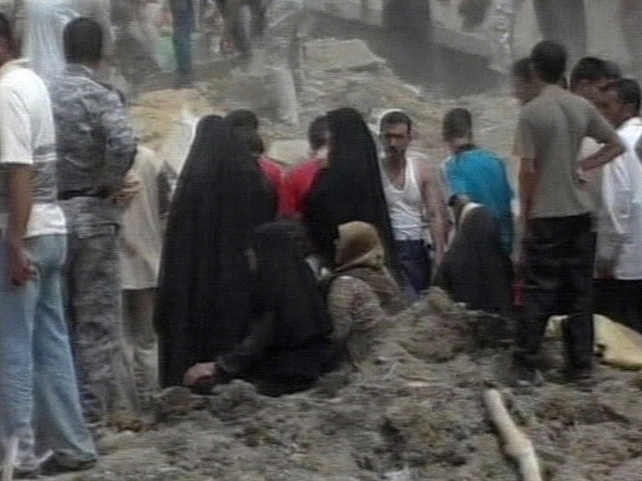 Kirkuk - Victims leaving a mosque