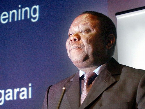 Morgan Tsvangirai - Joined the unity govt in February