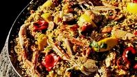 Seafood Paella - The real taste of Spain.
