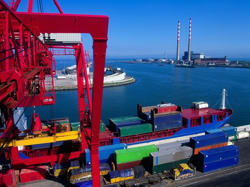 Dublin Port - Pickets placed at Marine Terminals this morning
