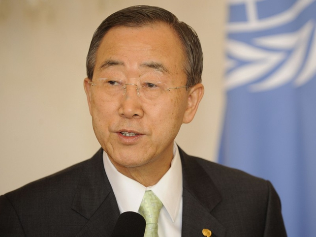 Ban Ki-moon - Voting will strengthen democratic institutions