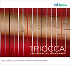 Triocca: Trios for Flute, Viola and Harp