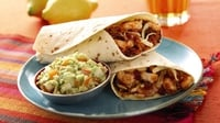 Latino Chilli Wraps with Guacamole - Garth McColgan's wraps are ideal for the family for a mid-week light bite with plenty of kick.