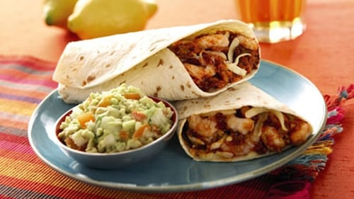 Garth McColgan's wraps are ideal for the family for a mid-week light bite with plenty of kick.