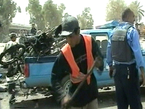 Baghdad - Bomb planted on motorbike