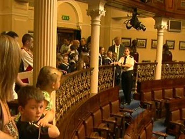 Leinster House - Tour of Dáil