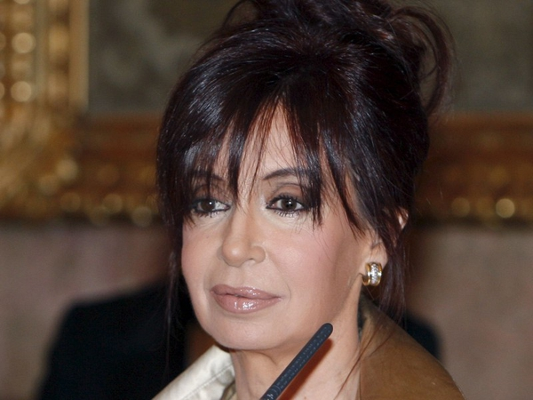 Cristina Fernandez de Kirchner - Formal objection to drilling operations