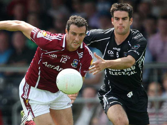 Joe Bergin put Galway ahead in injury time with his only point of the game