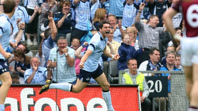 Bernard Brogan has been named at full forward in the 2010 team