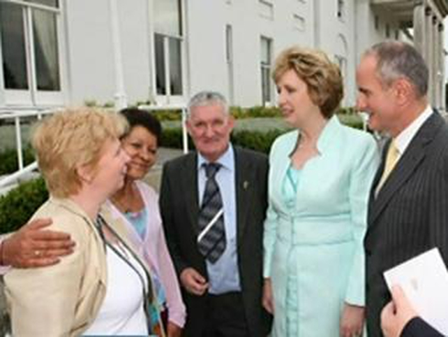 Mary McAleese - Praised courage of survivors