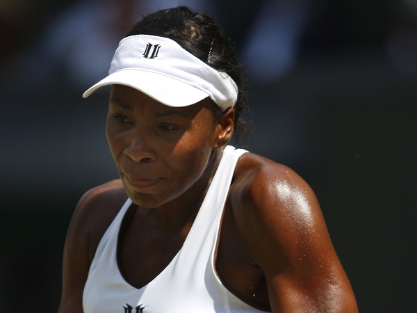 Venus Williams had little trouble in reaching the second round