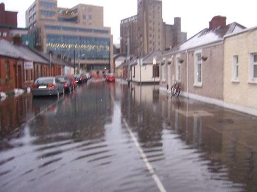 Ringsend - Gordon Street at 6am - (Pic: Maria Humphreys)