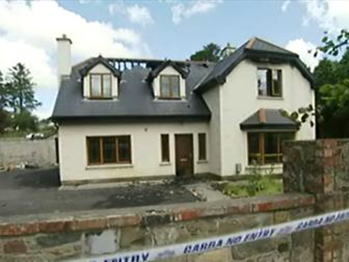 Ballina - House gutted by fire