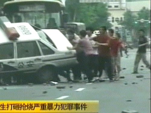 China - Riots in Xinjiang