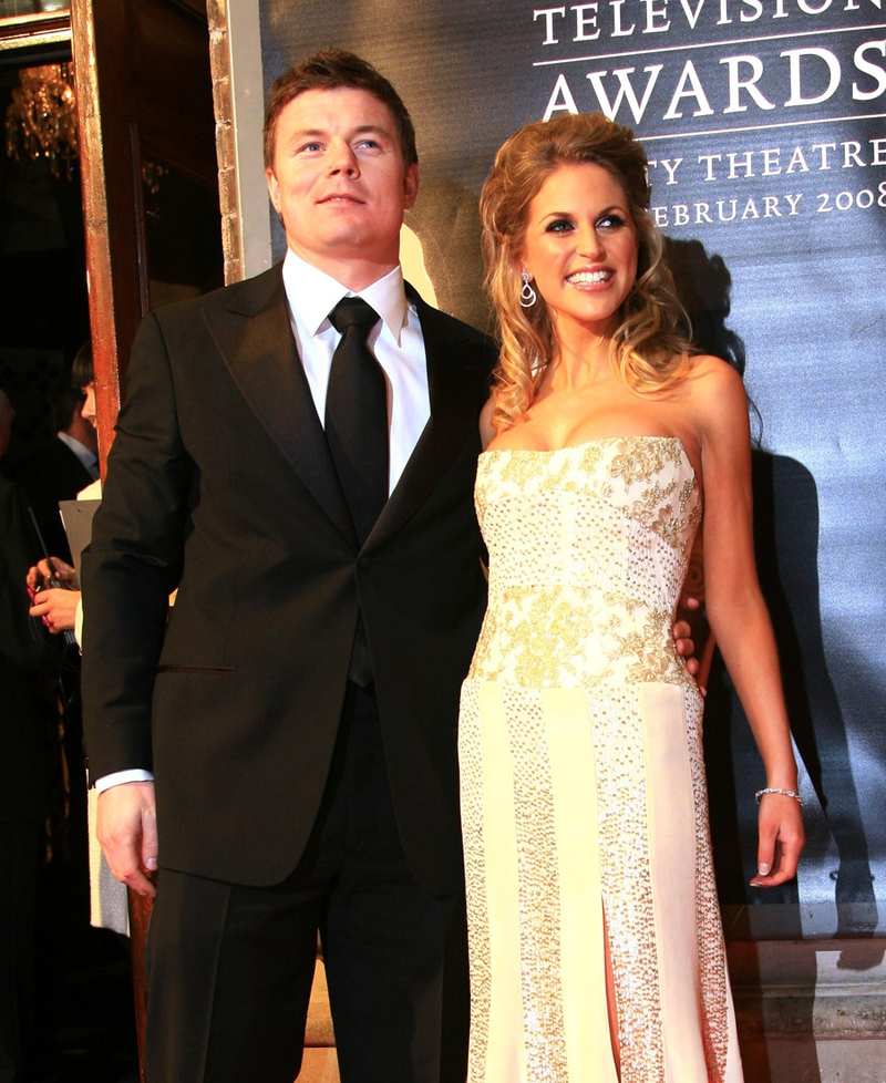 Brian ODriscoll Wont Be Able To Attend But His Wife Amy Huberman