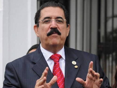 Manuel Zelaya - Pressure on coup leaders