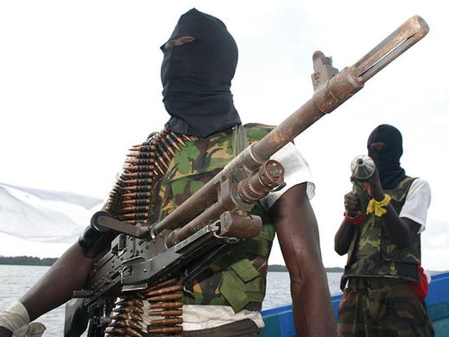 MEND - Nigerian militants