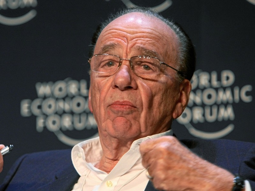 Rupert Murdoch - Online News Corporation titles to charge fee