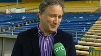 Tomas Mulcahy and Anthony Daly on the hurling final