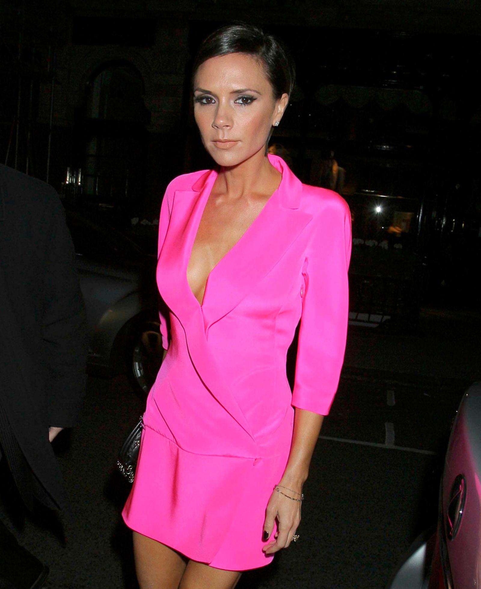 Victoria Beckham defends naturally thin' models