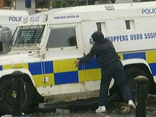Tensions in  Northern Ireland