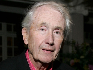 The late Frank McCourt
