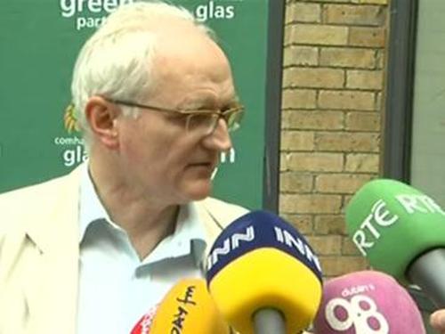 John Gormley - Two-thirds majority secured