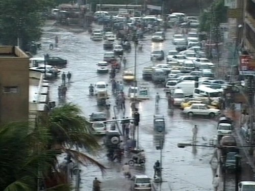 Karachi - Low-lying parts damaged