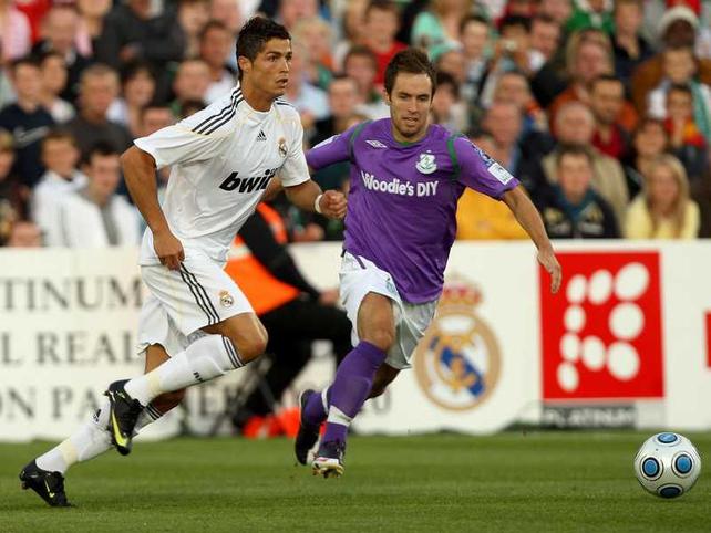 Rovers' Sean O'Connor tracks Cristiano Ronaldo