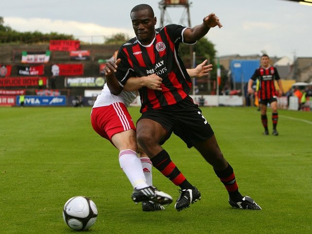 Joseph Ndo was Bohemians' key threat as they fell to a 1-0 defeat to Giovanni Trapattoni's former side