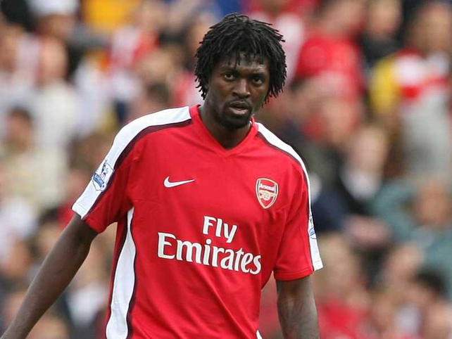 Emmanuel Adebayor's relationship with Arsenal fans soured in his last season at the Emirates